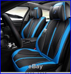 New 6D Car Seat Cover 5 seats Seat Cushion Microfiber Leather Car Sport Styling