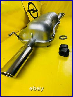 New Exhaust End Silencer Opel Zafira A 2,0 Litre 16V With 200PS 2.0 OPC Silencer