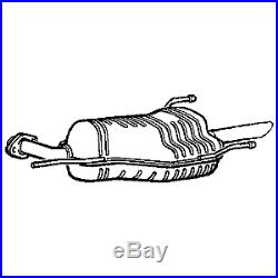 New Vauxhall Astra G Zafira Complete Exhaust System Rear Centre &Front +Fittings