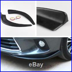 Pair Vehicle Car Modified Deflector Spoiler Splitter Diffuser Scratch Resistant