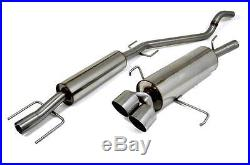 Piper Exhausts Vauxhall Astra MK4 1.4/1.6/1.8/2.0 Hatch (02/1998-) Cat Back