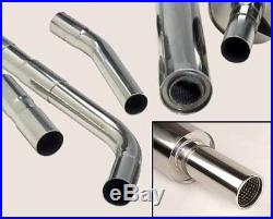 Piper Exhausts Vauxhall Astra MK4 1.4/1.6/1.8/2.0 Hatch (2002-) Cat Back Exhaust