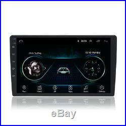 Single 1 Din Adjustable 9 Android 8.1 Car Stereo Radio (1G+16G) GPS UK Stock