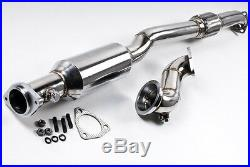 Stainless Steel Exhaust Sports Precat Downpipe For Vauxhall Astra Vxr Gsi 2.0