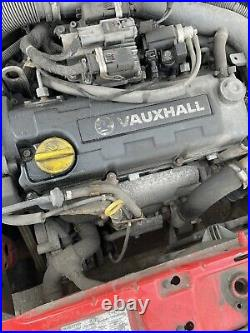 VAUXHALL 1.7 DTI ENGINE Y17DT CORSA / COMBO / ASTRA MK4 2001-2005 120k
