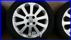 VAUXHALL ASTRA G MK4 CORSA C SXi 1998-04 SET OF 16 10 SPOKE ALLOY WHEEL + TYRES