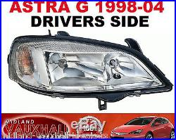Vauxhall Astra G Mk4 Headlight Chrome Drivers Off Right Side Van Hatchback Club