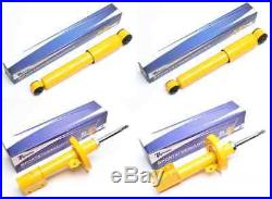 VAUXHALL ASTRA G year 98-05 2x FRONT 2x REAR SPORT GAS SHOCK LOWERING SHOCKS