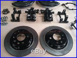 VAUXHALL ASTRA MK4 GSI TURBO COMPLETE VXR REAR BRAKE KIT EVERYTHING YOU NEED