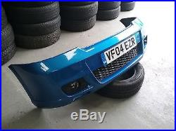 VAUXHALL ASTRA MK4 GSI TURBO FRONT BUMPER GENUINE GM COMES WITH GRILLS & LIGHTS