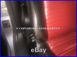 Vauxhall Astra Mk4 Linea Rossa Red + Black Leather Interior Convertible