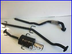 VAUXHALL ASTRA Mk4 COUPE 1.8L 16V SPORTS EXHAUST SYSTEM 2001-2005 3.5 Tip