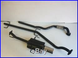 VAUXHALL ASTRA Mk4 COUPE 1.8L 16V SPORTS EXHAUST SYSTEM 2001-2005 4 Tip