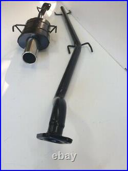 VAUXHALL ASTRA Mk4 COUPE PERFORMANCE EXHAUST SYSTEM 1998-2001 3.5 Tip