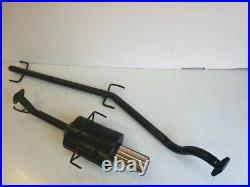 VAUXHALL ASTRA Mk4 COUPE PERFORMANCE EXHAUST SYSTEM 1998-2001 4 Tip