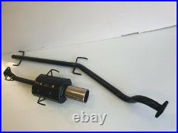 VAUXHALL ASTRA Mk4 COUPE PERFORMANCE EXHAUST SYSTEM 1998-2001 LARGE SQUARE Tip