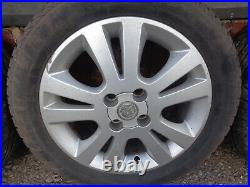 Vauxhall Astra G Mk 4 2002 Set Of 16 Inch 5 Stud Alloy Wheels & Tyres 205/50/r16