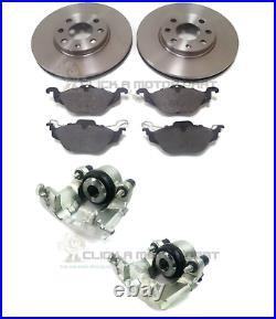 Vauxhall Astra G Mk4 1998-2004 Front Brake Discs And Pads & Calipers (4stud)