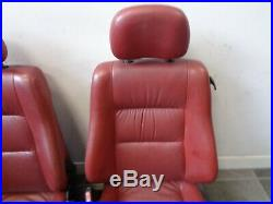 Vauxhall Astra G Mk4 Convertible complete red leather interior seats