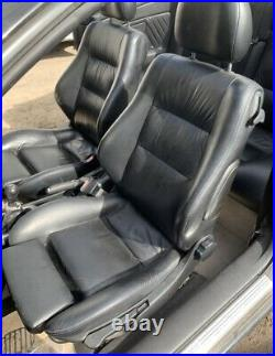 Vauxhall Astra G Mk4 Coupe Convertible Leather Interior Seats And Door Cards