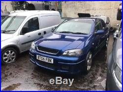 Vauxhall Astra G Mk4 Gsi Full Heated Leather Interior Seats 2004 Z20let