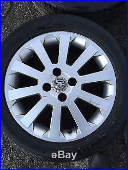 Vauxhall Astra G Mk4 SXI 16` 4 Stud Alloy Wheels Alloys Corsa van Good Tyres Sri