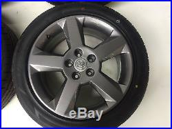 Vauxhall Astra MK4 17 inch Alloy Wheels with Brand New Tyres 235/45 R17