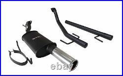 Vauxhall Astra MK4 Coupe Sportex'Race' Exhaust System Single 3