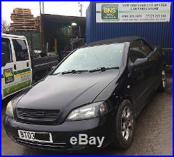Vauxhall Astra MK4 G Cabriolet Convertible Soft Top Roof Hood Black & Frame