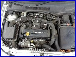 Vauxhall Astra Mk4 2004 1.7 Dti Complete Engine 5 Speed Manual Gearbox Y17dt