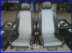 Vauxhall Astra Mk4 Convertible Half Leather Interior Seats + Door Cards 98-04