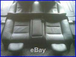 Vauxhall Astra Mk4 G Coupe Full Black Leather Interior Seats 1999-2005