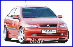 Vauxhall Astra Mk4 Genuine Rieger Front Spoiler (ABS)