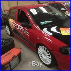 Vauxhall Astra Mk4 track car Turbo very low milage 12 months mot