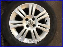 Vauxhall Astra Mk5 H Or Mk4 G 16 4 Stud Alloy Wheels & 4mm 205/55/r16 Tyres