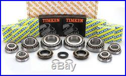 Vauxhall M32 Uprated O. E. M. Snr Gearbox Rebuild Kit 8 Bearings 25mm Input
