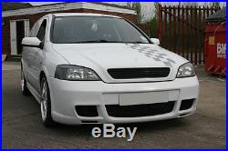 Vauxhall Opel Astra G Mk4 GSi Front Bumper 1998-2004 Unpainted Brand New
