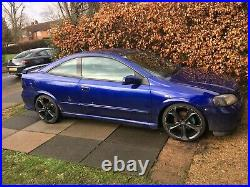 Vauxhall astra g bertone mk4 coupe 100 Edition 1.8l