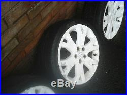 Vauxhall astra mk4 gsi snowflake alloy wheels 17 inch