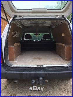 Vauxhall astra van mk 4 with tow bar