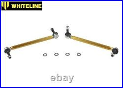 Whiteline Adjust. Front Sway Roll Bar Drop Links for Vauxhall Opel Astra G Mk4